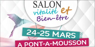 Article Salon vitalité et bien-être à Pont-à-Mousson 2018