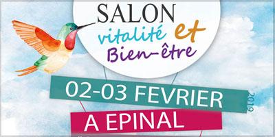 Salon vitalité et bien-être à Epinal bandeau 2019