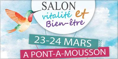 Salon vitalité et bien-être à Pont-à-Mousson bandeau 2019