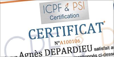 Certificat IPCF et psi adformation