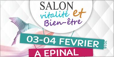 Article Salon vitalité et bien-être à Epinal 2018